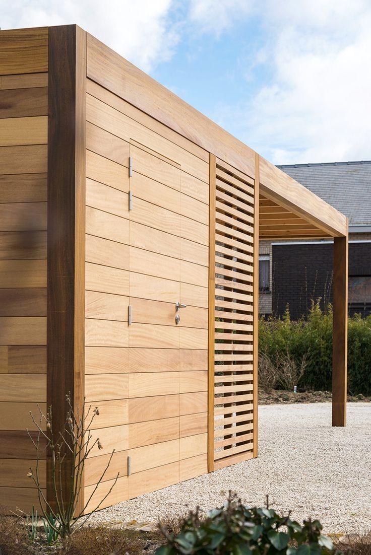 Stahlschuppen In 2020 Stahlschuppen Design Gartenhaus Carport