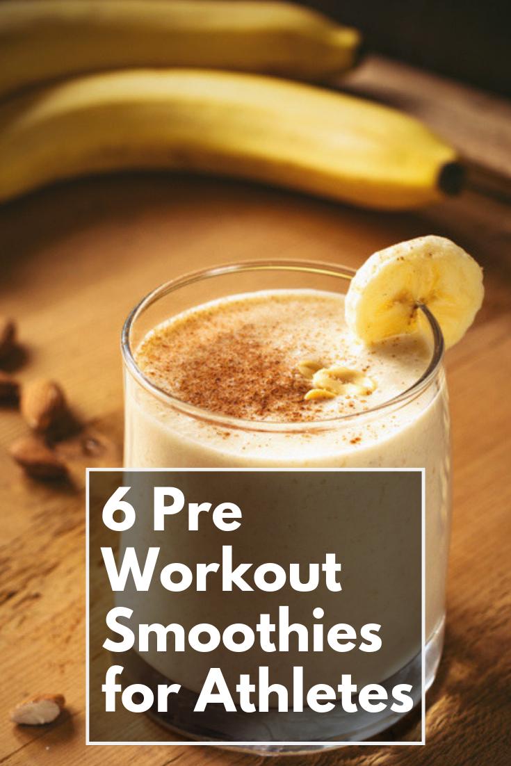 Pre Workout Smoothie Recipes  #athletenutrition