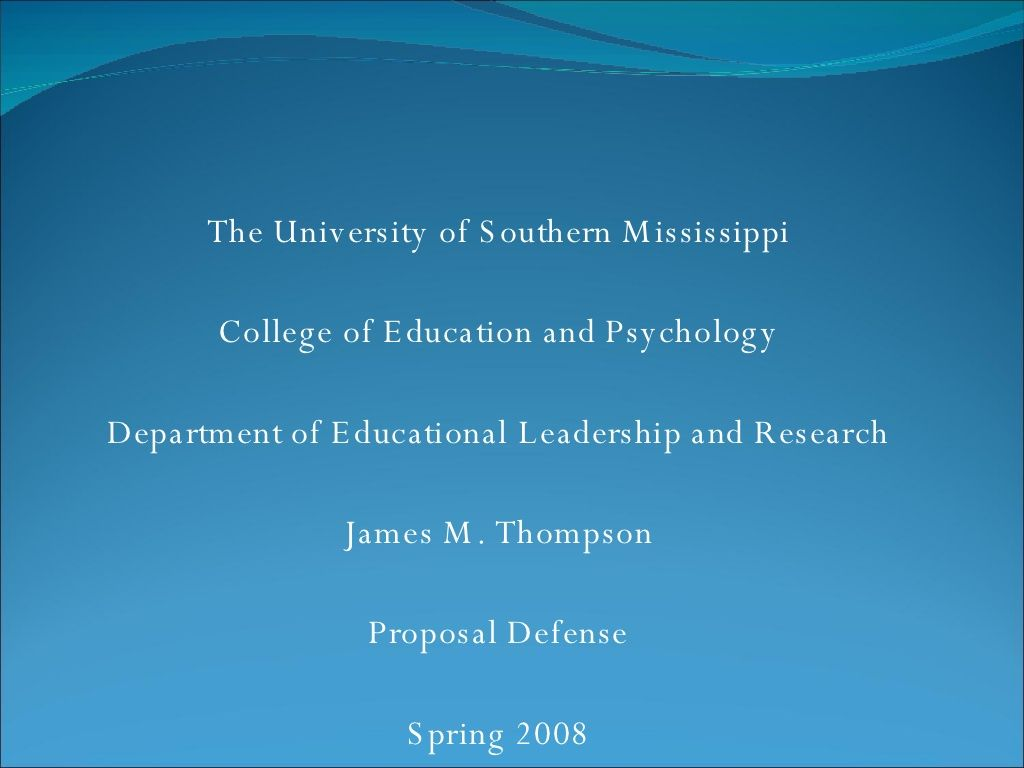 proposal defense power point by jamathompson via slideshare