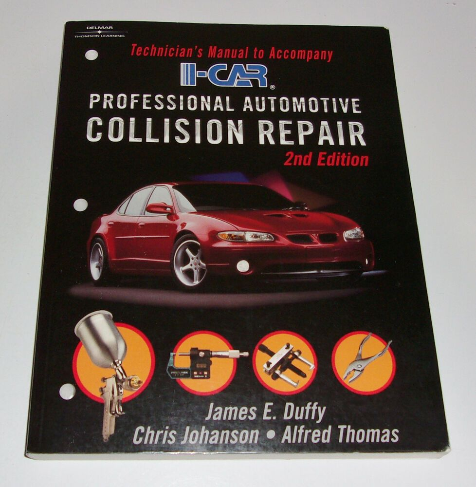 ICar Professional Automotive Collision Repair Tech Manual