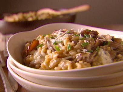 Get porcini and chanterelle risotto recipe from food network food get porcini and chanterelle risotto recipe from food network forumfinder Images