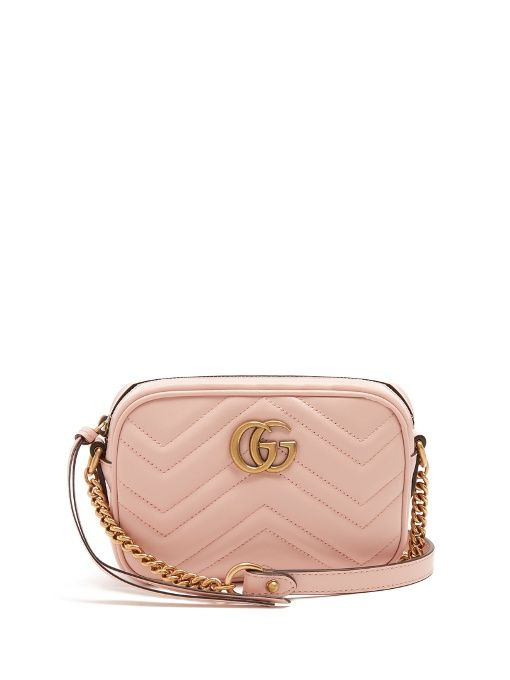 c08dd0c74 Gucci GG Marmont mini quilted-leather cross-body bag | Bags | Gucci ...