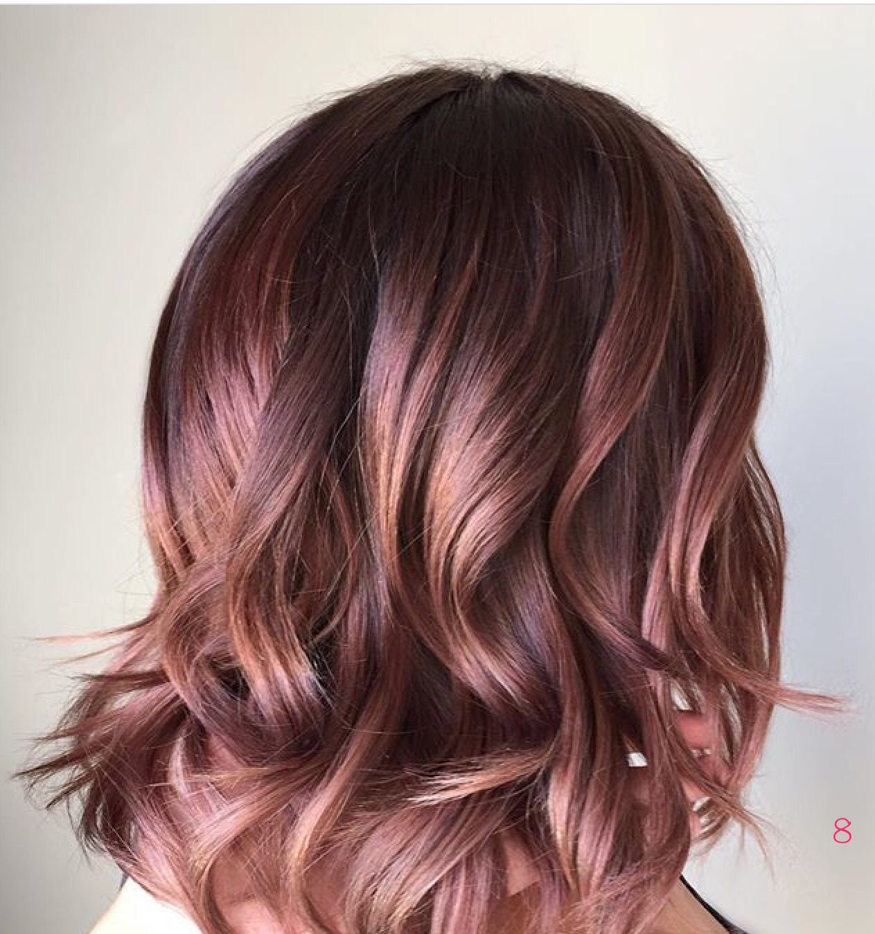 rose gold ombre hair gorgeous
