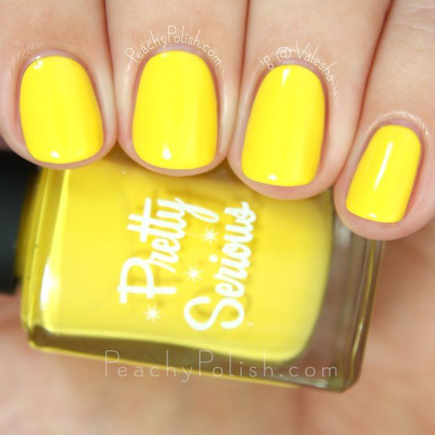 Pretty Serious Cosmetics Honey Puff   The Well Meaning But Ultimately Quite Awkward Pet Names Collection   Peachy Polish