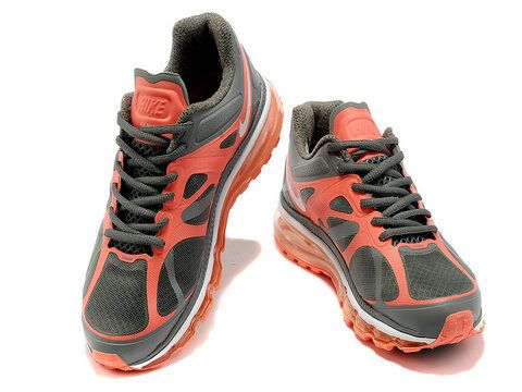 38f3f0889a45 Womens Nike Air Max 2012 Cool Grey Mango Style Code 487679-016 ...