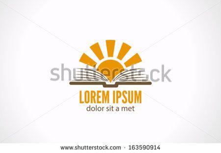 Education Logo Read Book Logo Design Concept Template