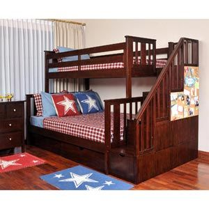 Colin Staircase Bunk Bed Www Costco Ca 2 Of These For The Basement Bunk Beds Bunk Beds With Stairs Staircase Bunk Bed