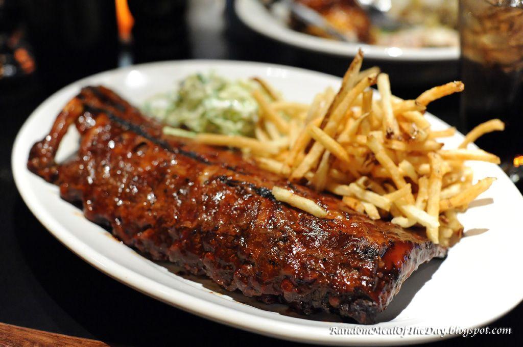 Houston S Restaurant Barbecue Pork Ribs Barbecue Pork Ribs Pork Ribs Bbq Ribs