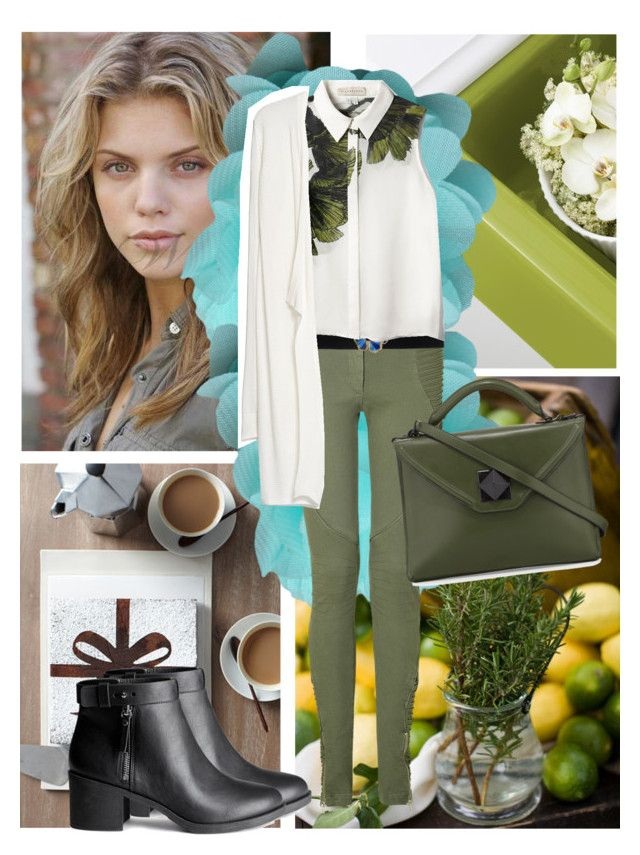 """""""Senza titolo #653"""" by talulahj ❤ liked on Polyvore featuring Preen, H&M, STELLA McCARTNEY, Elle Sasson, MANGO and L.A.M.B."""