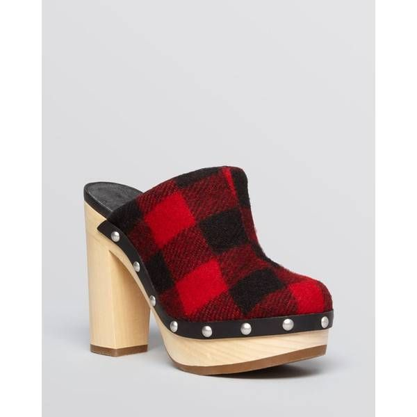 Woolrich Platform Mule Clogs - Journalist High Heel - High-heel Clogs http://www.gossipness.com/shopping/woolrich-platform-mule-clogs-journalist-high-heel