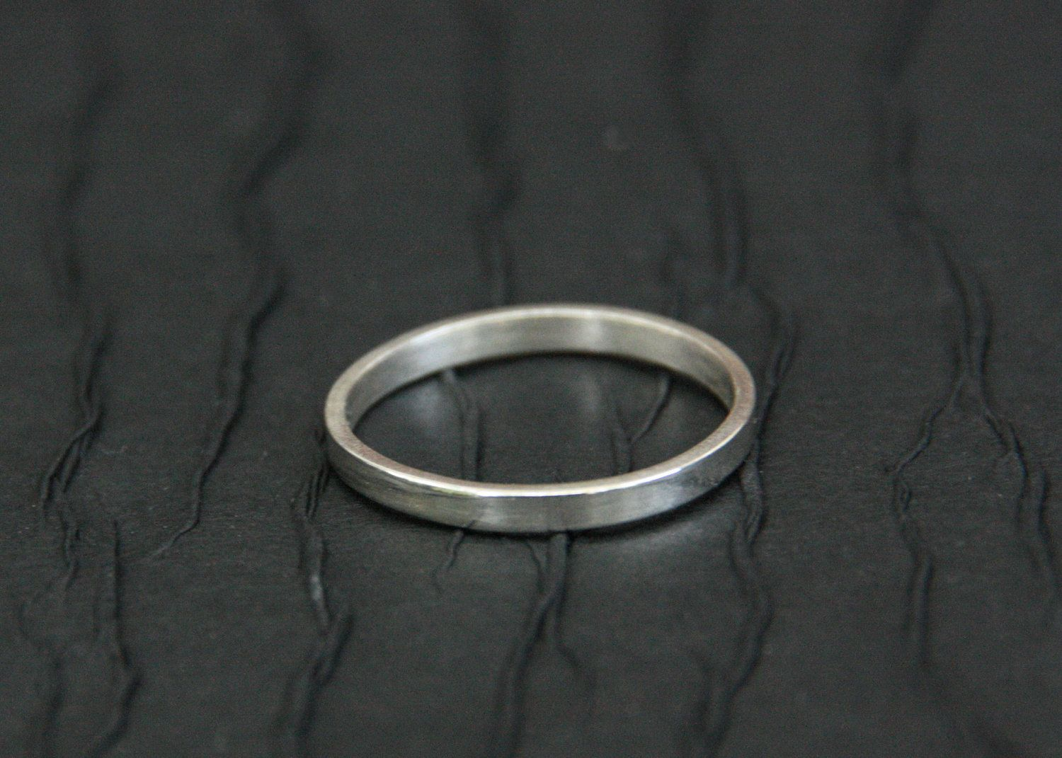 Sterling Silver Ring Silver Wedding Ring Smooth Etsy Silver Rings Silver Wedding Rings Sterling Silver Rings