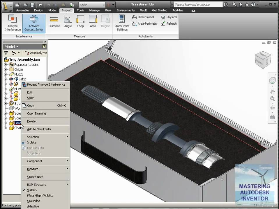 26 Autodesk Inventor Tutorials | CAD software tutorials in