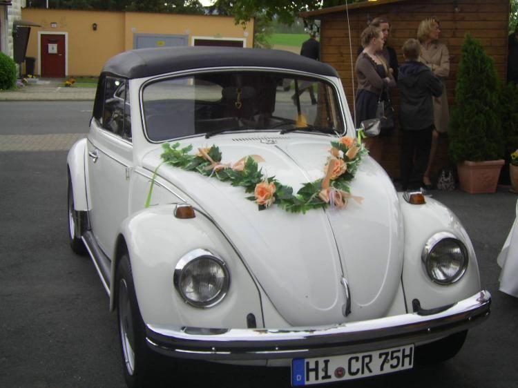 VW Kfer Cabrio zur Hochzeit schmcken So gehts I marktde marktde ratgeber hochzeit auto