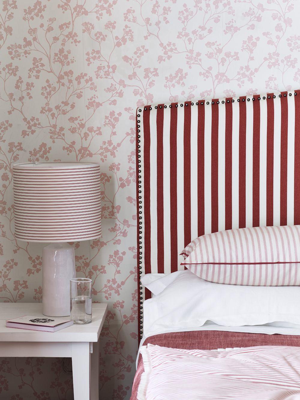 Best Ian Mankin Fabric Wallpaper Bedheads In 2019 Striped 400 x 300