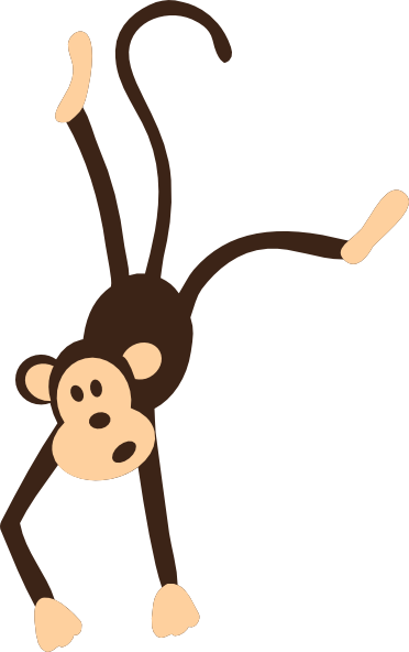 monkey clip art hanging monkey clip art vector clip art online rh pinterest com free monkey clipart for teachers free monkey clip art downloads