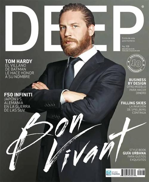 50 Best Creative Book And Magazine Cover Designs For Inspiration Tom Hardy Magazine Cover Tom Hardy Beard