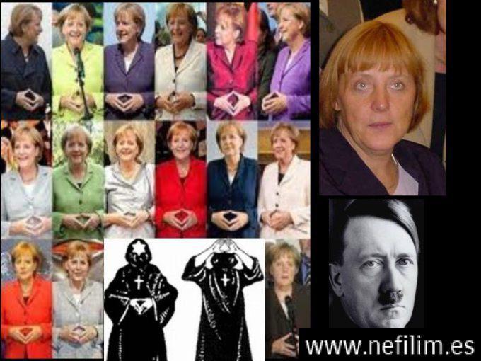 Ángela merker hija de Hitler?