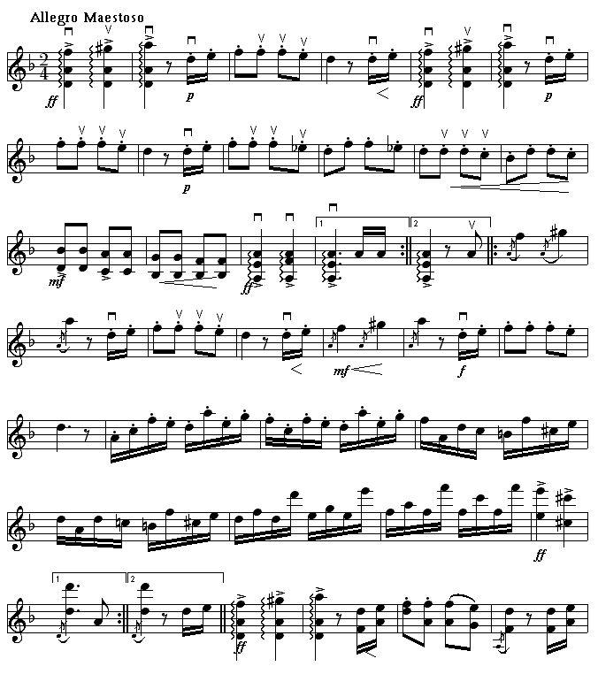 Image Result For List Of Music Symbols For Violin Music
