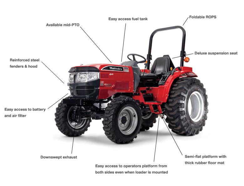 3016 4wd Shuttle Mahindra Mahindra Tractor Tractors 4wd