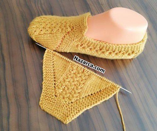 COUVERTURE DE BOTTES POUR FEMMES EN MAILLE MODÈLE PRATIQUE | Nazarca.com   – slippers,boot cuffs,gloves,mittens