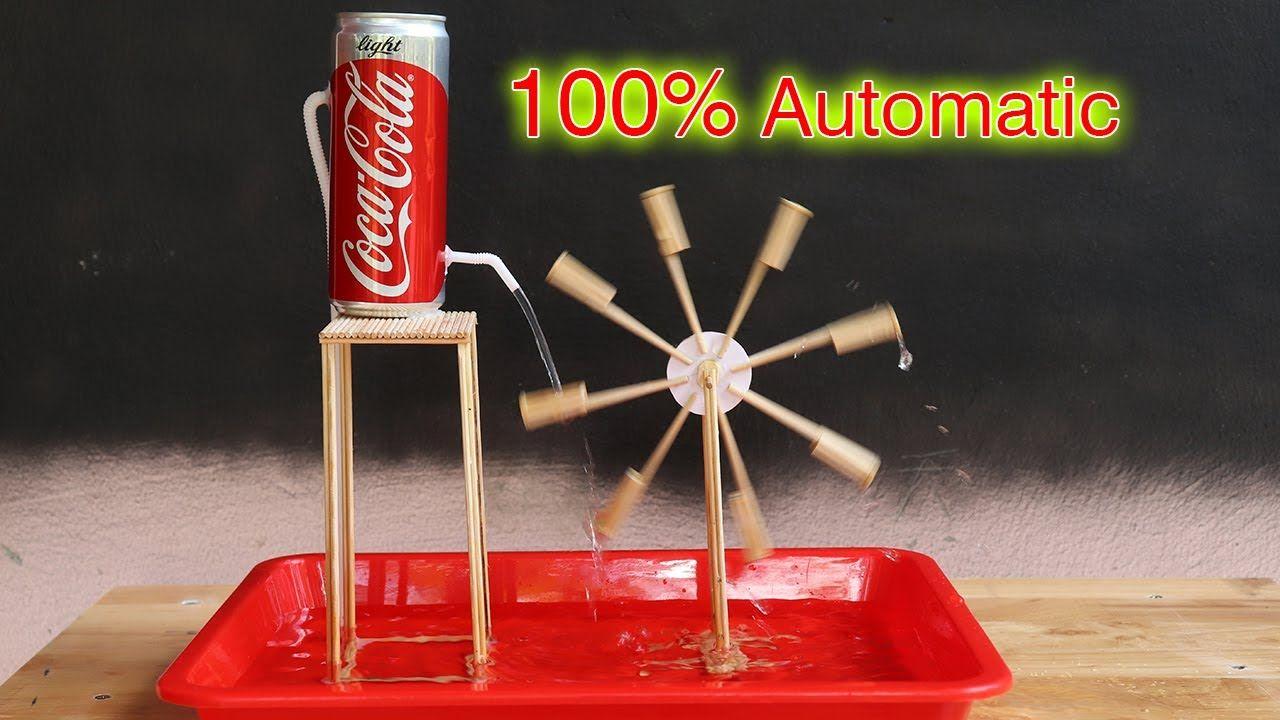 Membuat Kincir Air Dari Bambu Otomatis Yang Menakjubkan Youtube