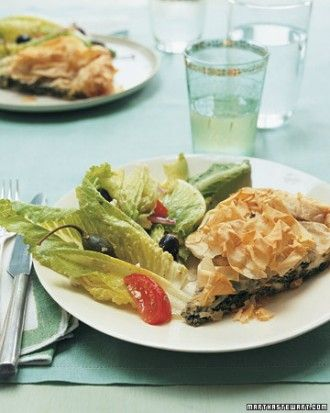 "See the ""Quick Spanakopita with Chickpea Spread Menu"" in our Mother's Day Recipes and Menus gallery"