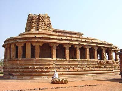 Temple Durga, Aihole 7e siècle | HGA Inde | Indian