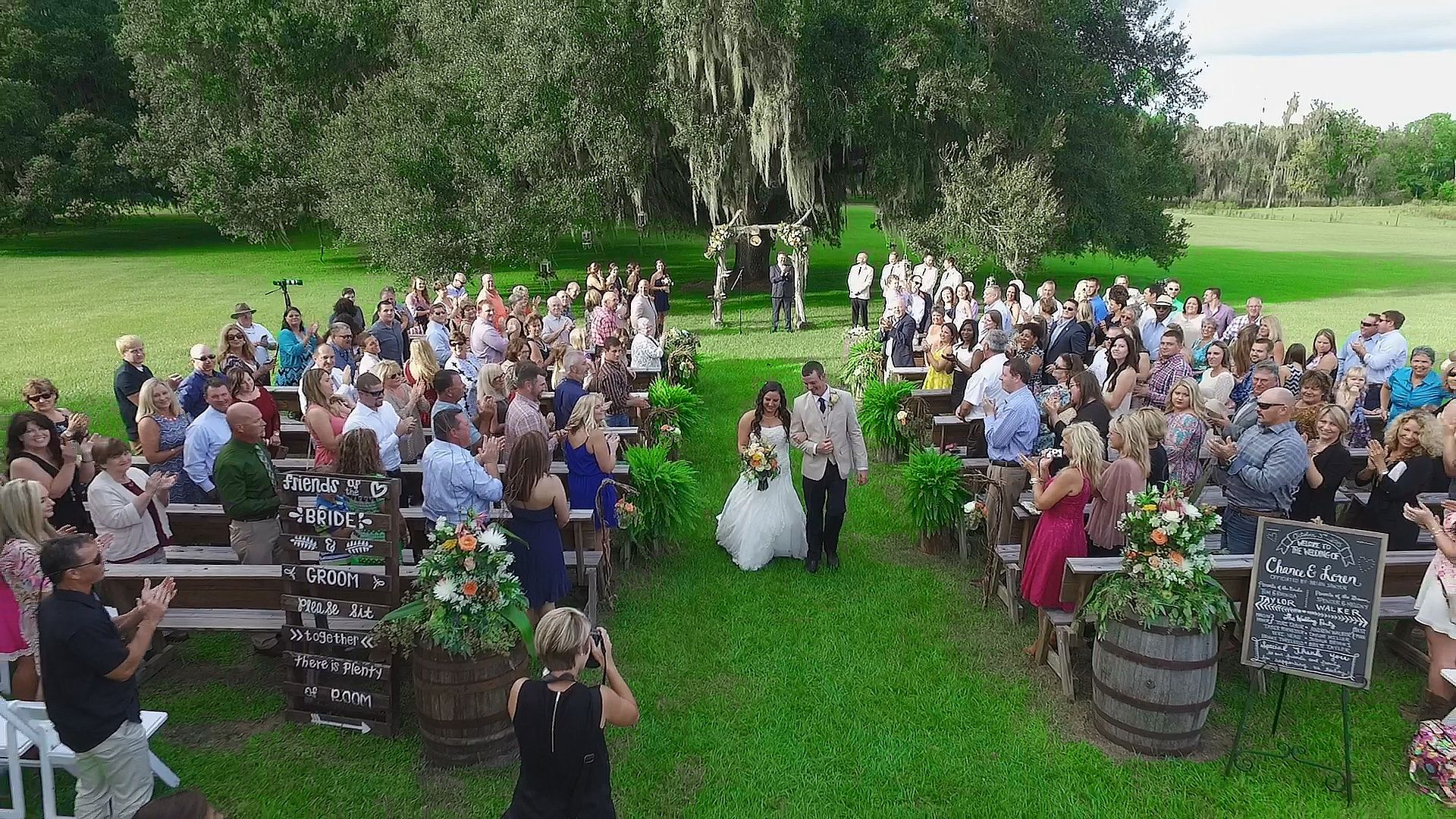 Shot By Drone At S Bar Barn Lakeland Fl: Lakeland Fl Wedding Venue At Websimilar.org