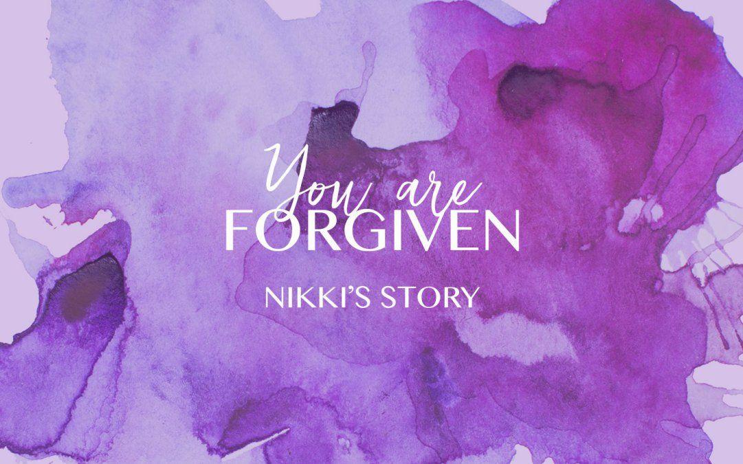 Because He Forgives Me, I Can Forgive Myself…