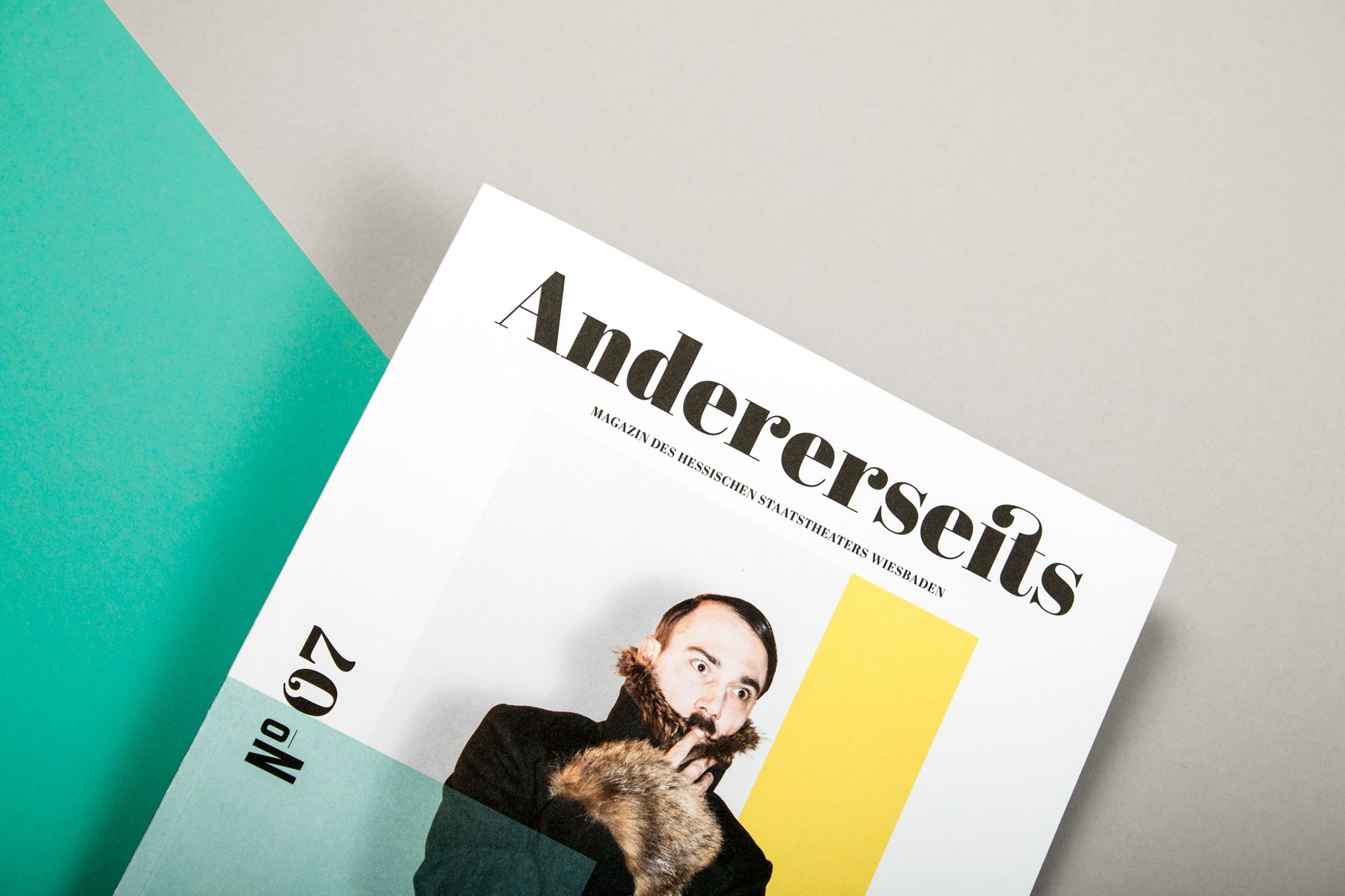 Andererseits Magazine on Behance Andererseits Magazine on