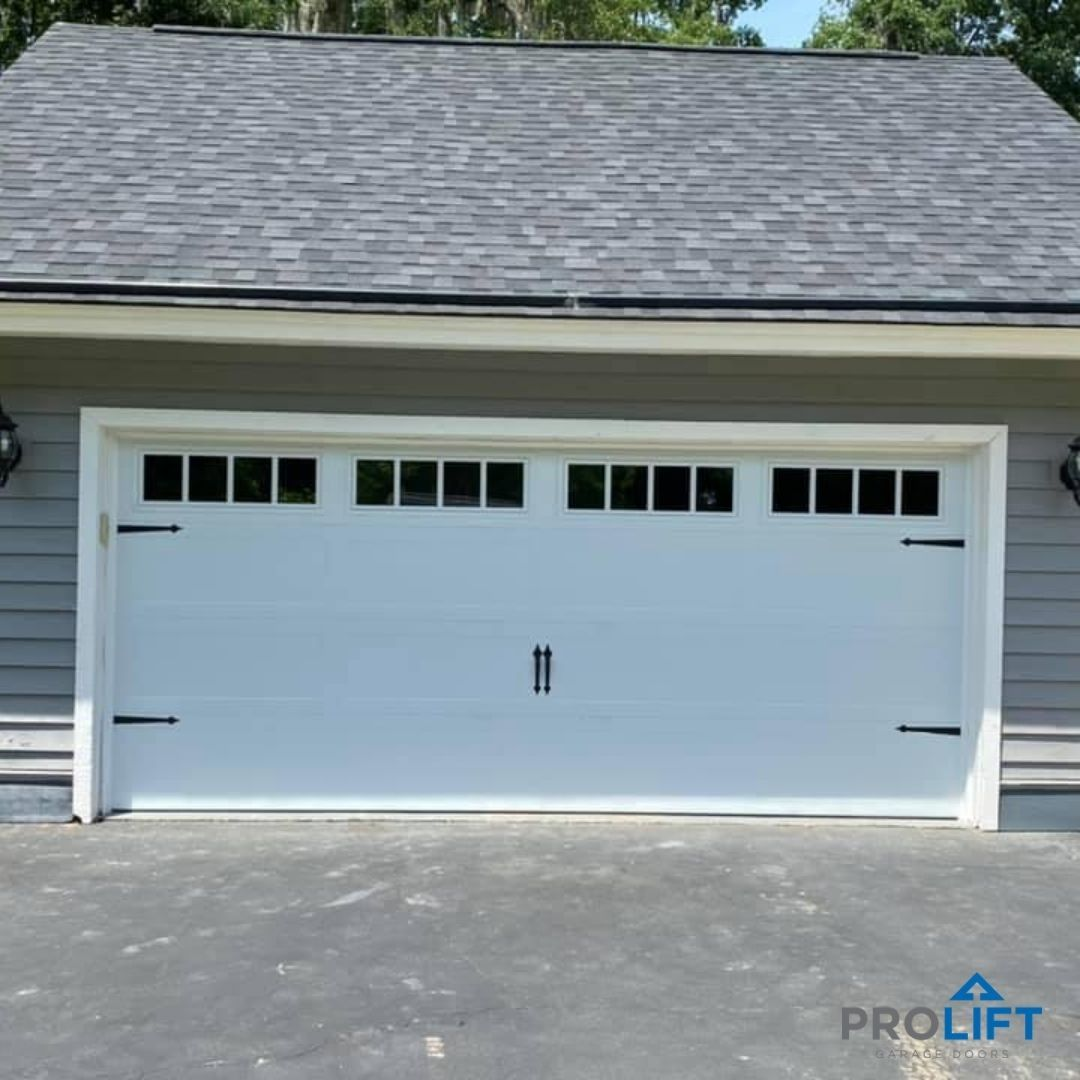 Carriage House Garage Door Design Panels Windows Hardware In 2020 Garage Doors Garage Door Design Door Design