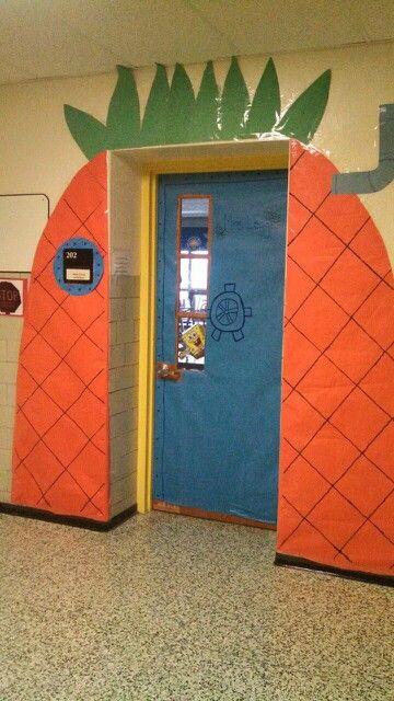 Spongebob Classroom Door Decoration Classroom