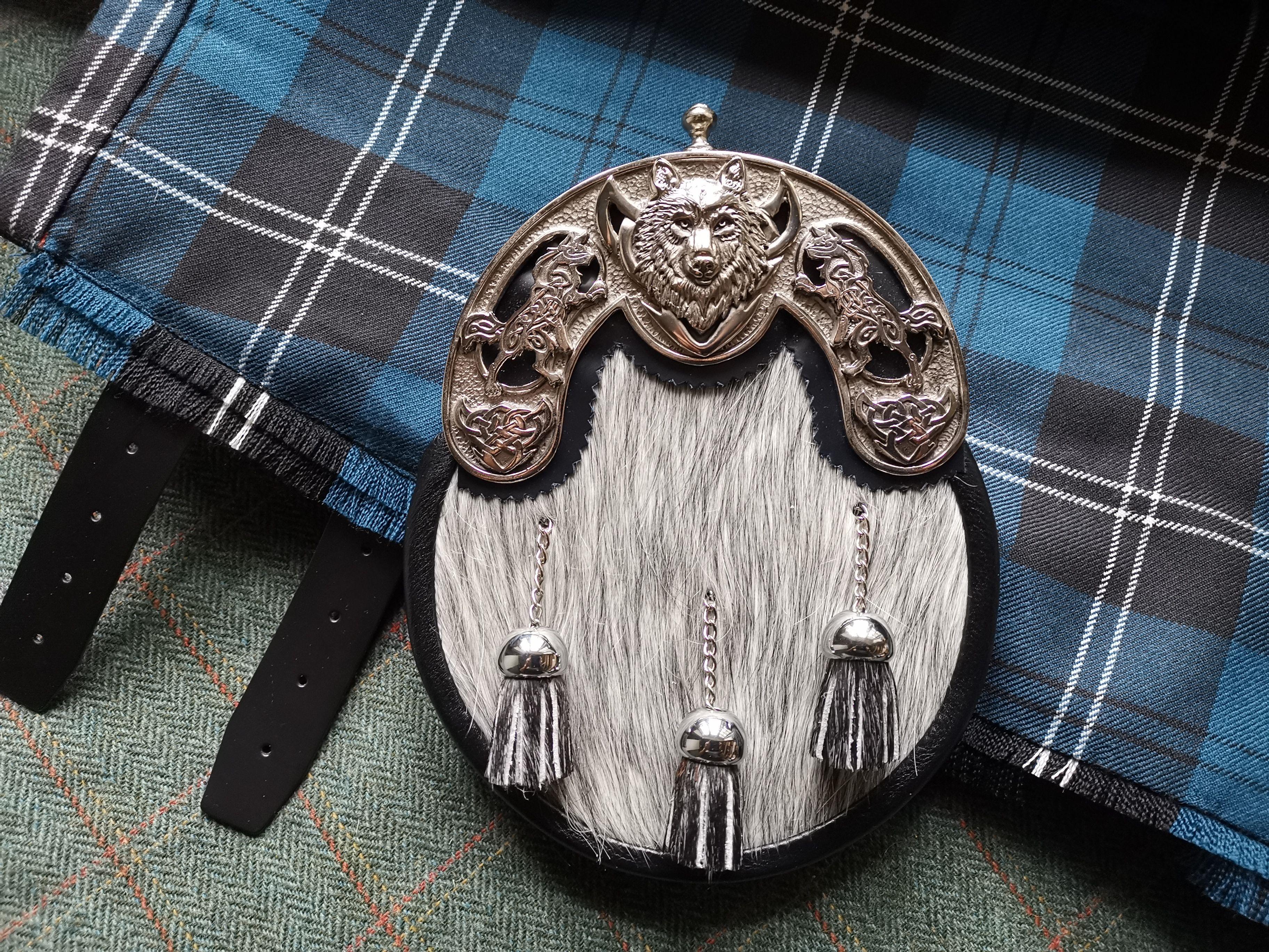 Gürtelschnalle Buckle Schottland Kilt keltisch NEU