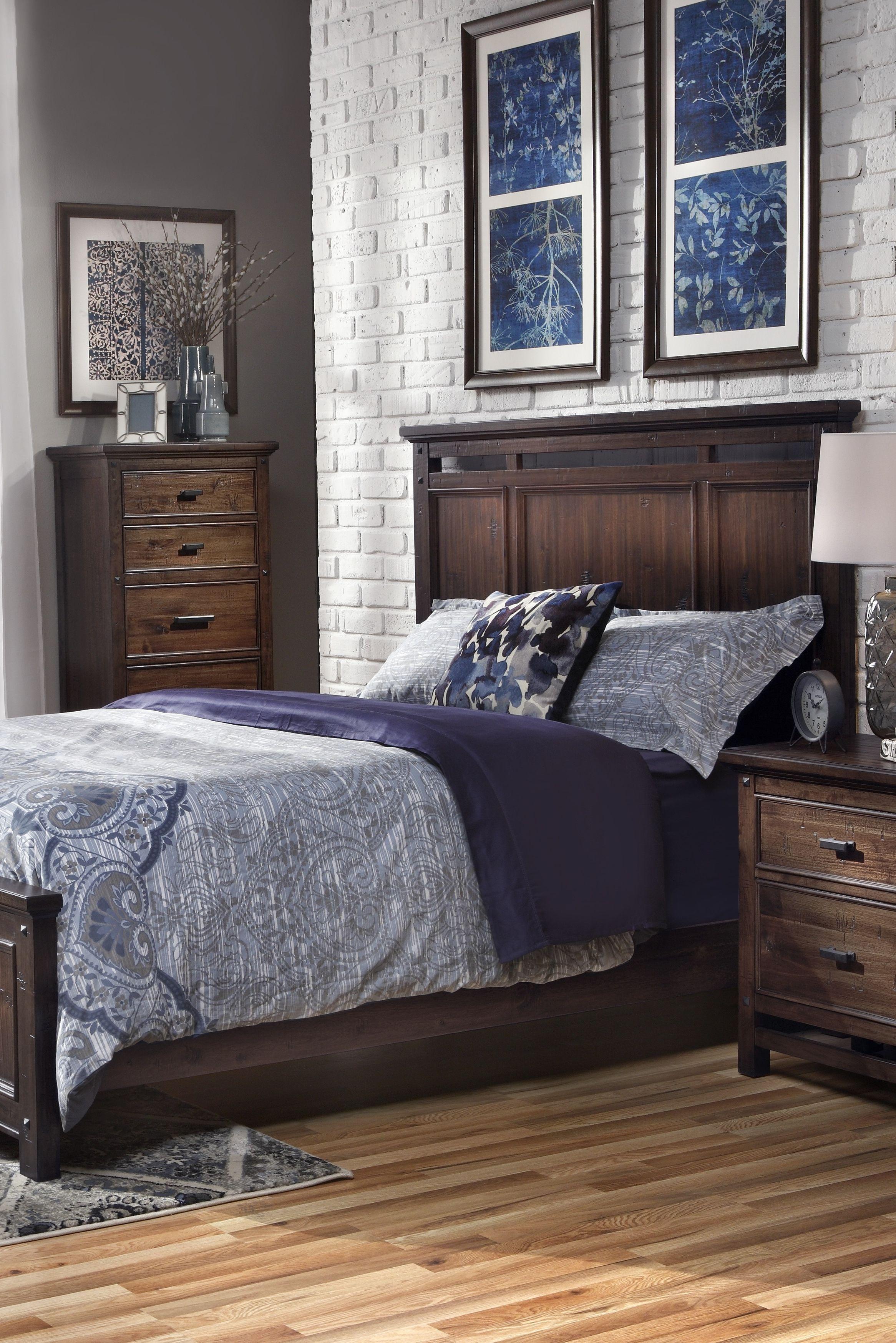 Wolf Creek Panel Bedroom Set King bedroom sets, Bedroom