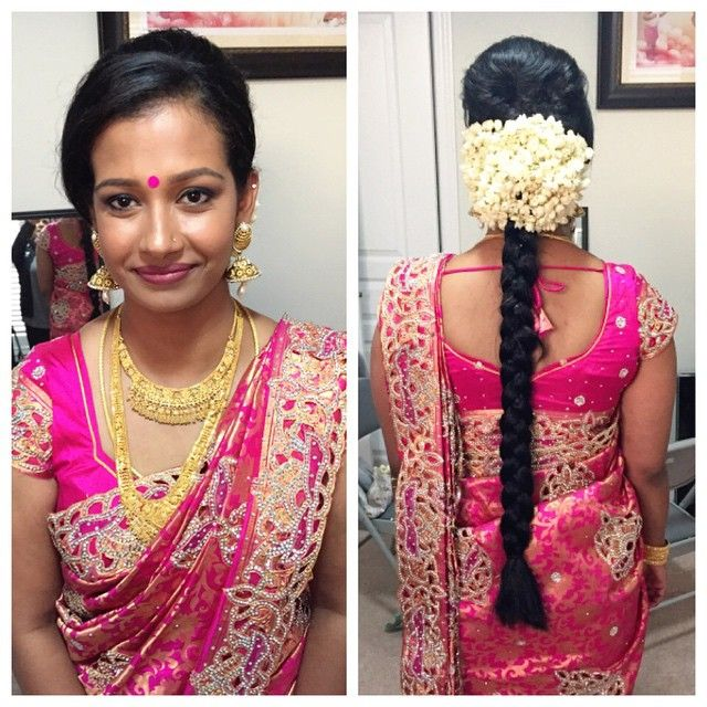 Kerala Party Hairstyles: The Beautiful Sister Of The Bride All Ready For Her Sister