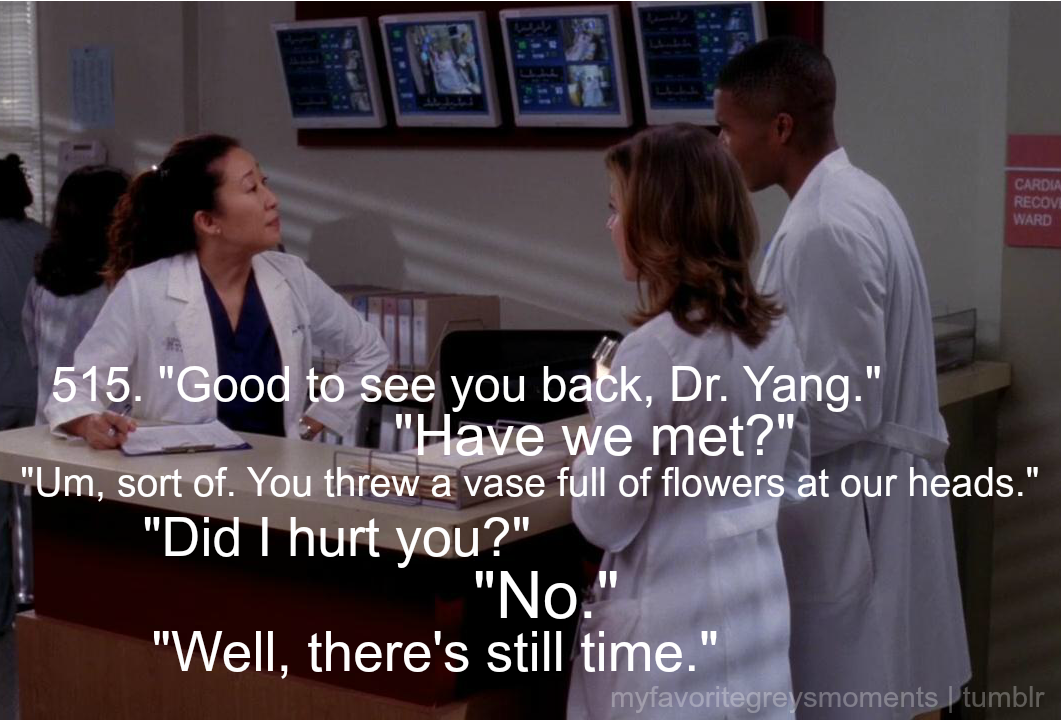 Cristina meeting Shane and Heather for the first time.