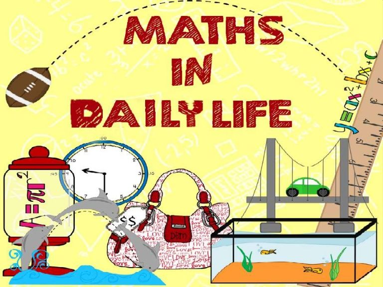 Slide Share On Use Of Maths In Our Daily Life Works Like Cooking Navigating Sports Shopping Etc Are In The Real Life Math Middle School Math Teaching Math