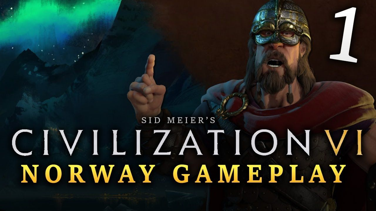 Civilization 6: Norway Let's Play   Episode #1 - New Game