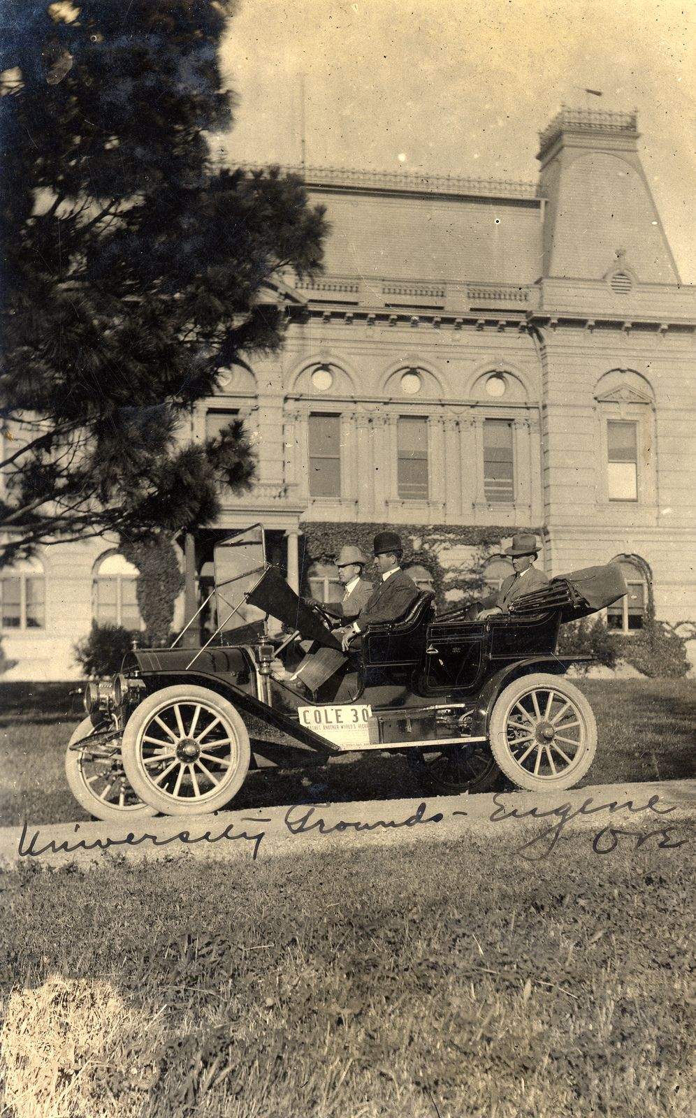 30 Great Pictures And Ideas Of Decorative Ceramic Tiles: Men In A Cole 30 Car On The University Of Oregon, Circa