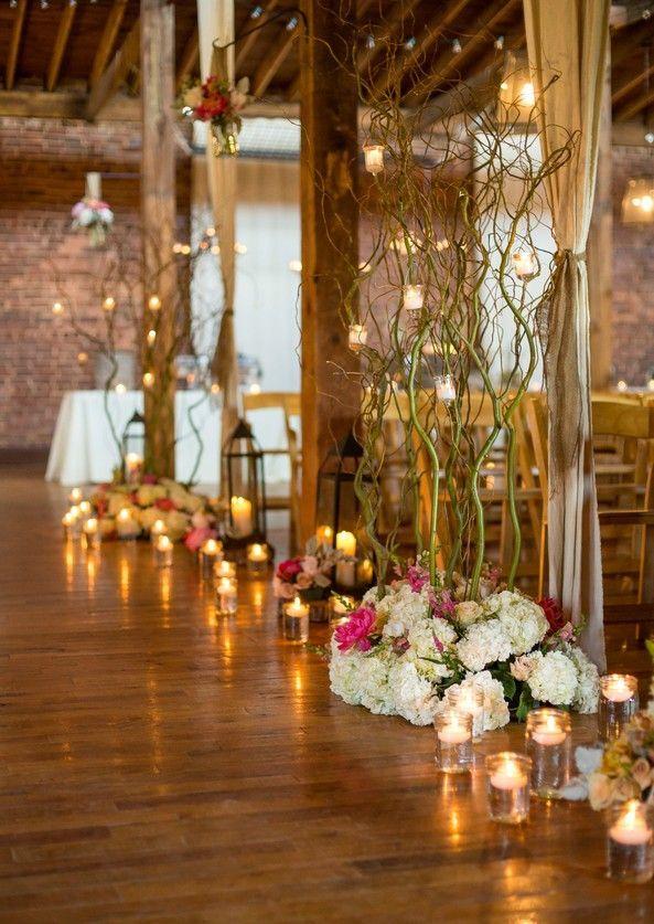 crystal isle decor   isle decor   Warehouse wedding venue ...