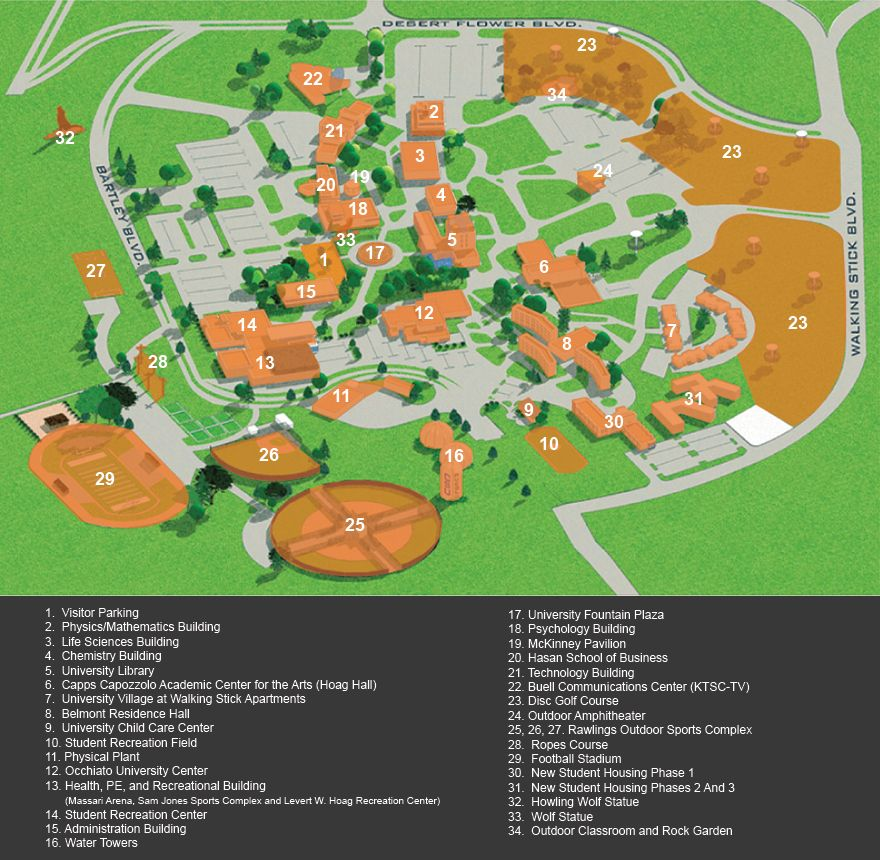 csu map of campuses Map Of Csu Fort Collins Campus Map Campus Map Colorado State csu map of campuses