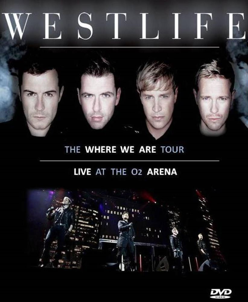 Westlife - Where we Are Tour DVD Neu | Unbedingt kaufen | Pinterest ...