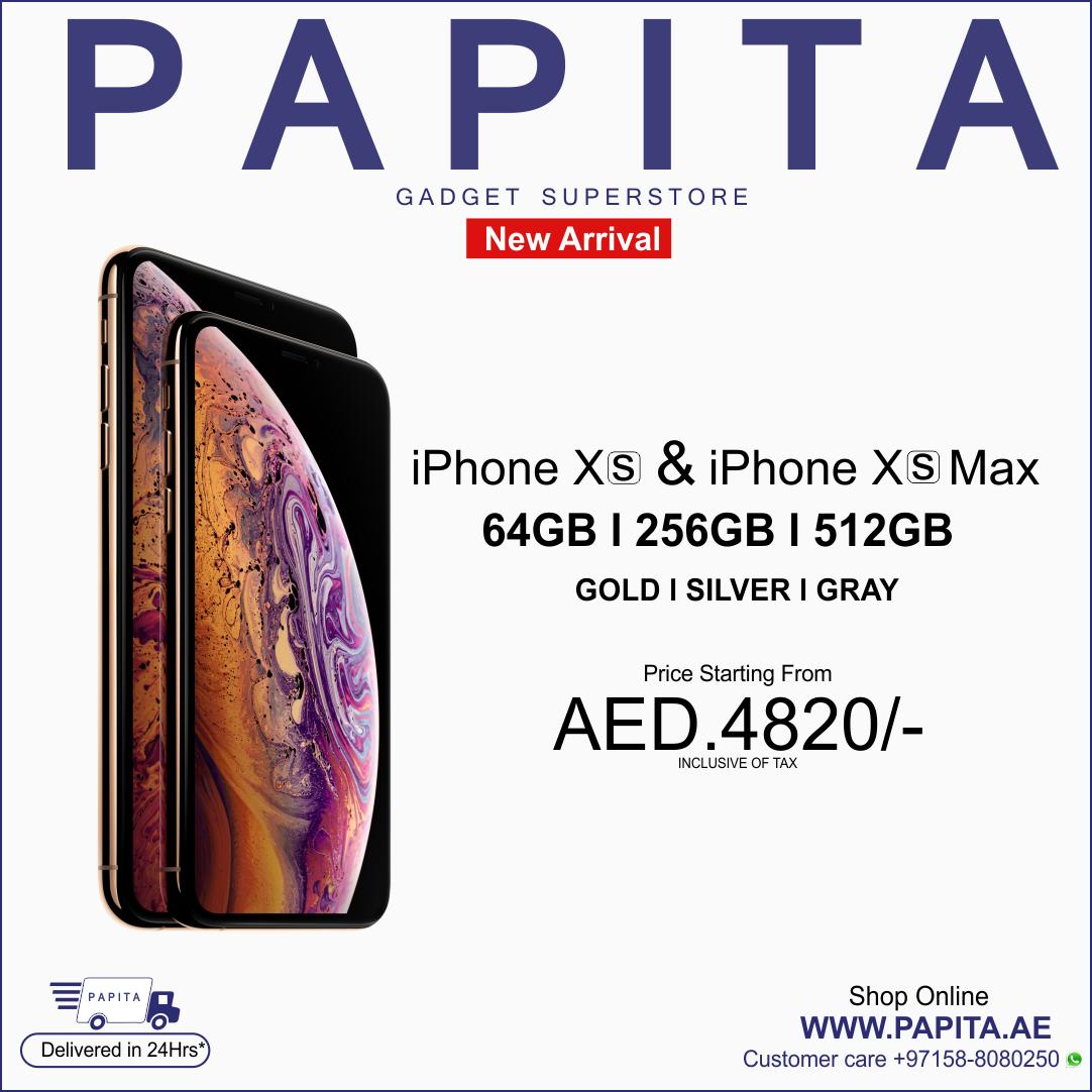 iPhone XS price in Dubai, UAE | iphone Xs & iPhone Xs Max | Iphone