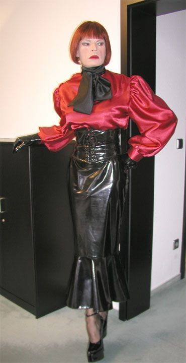 Are transvestite in latex seems remarkable