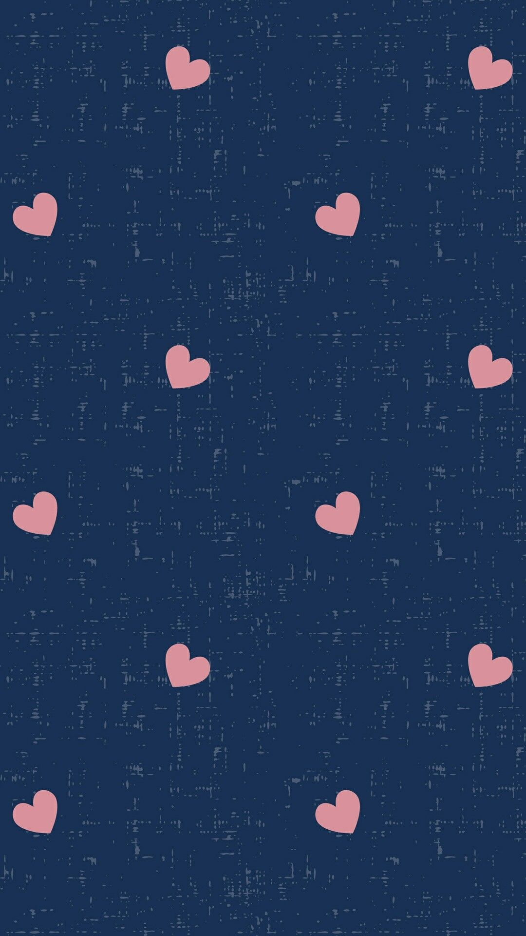 This Is My Navy And Pink Heart Home Screen Wallpaper Android Wallpaper Hd Wallpaper Android Homescreen