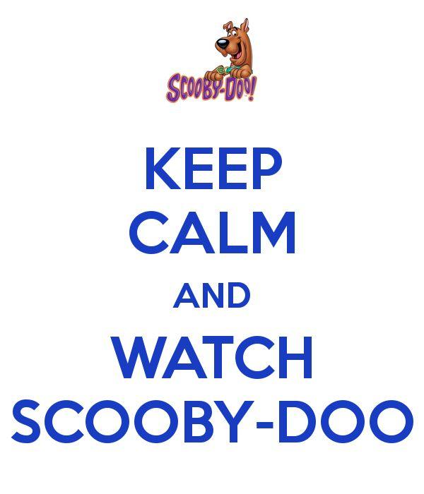 Love Scooby Doo!