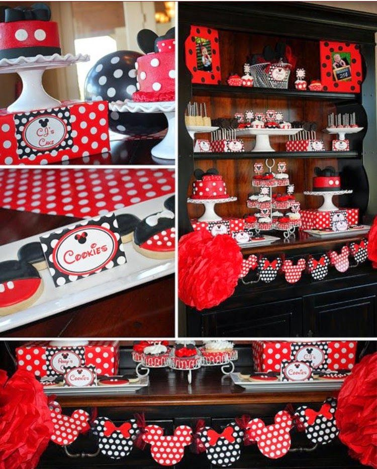 Breakfast with Minnie Party, Minnie Mouse birthday party, minnie mouse…
