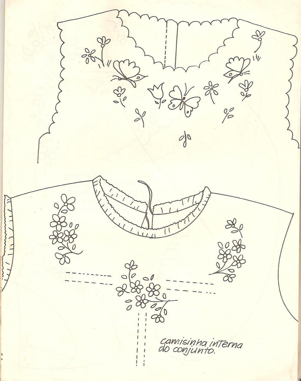 Camiseta de bebe | moldes | Pinterest | Bordado, Dibujos para bordar ...