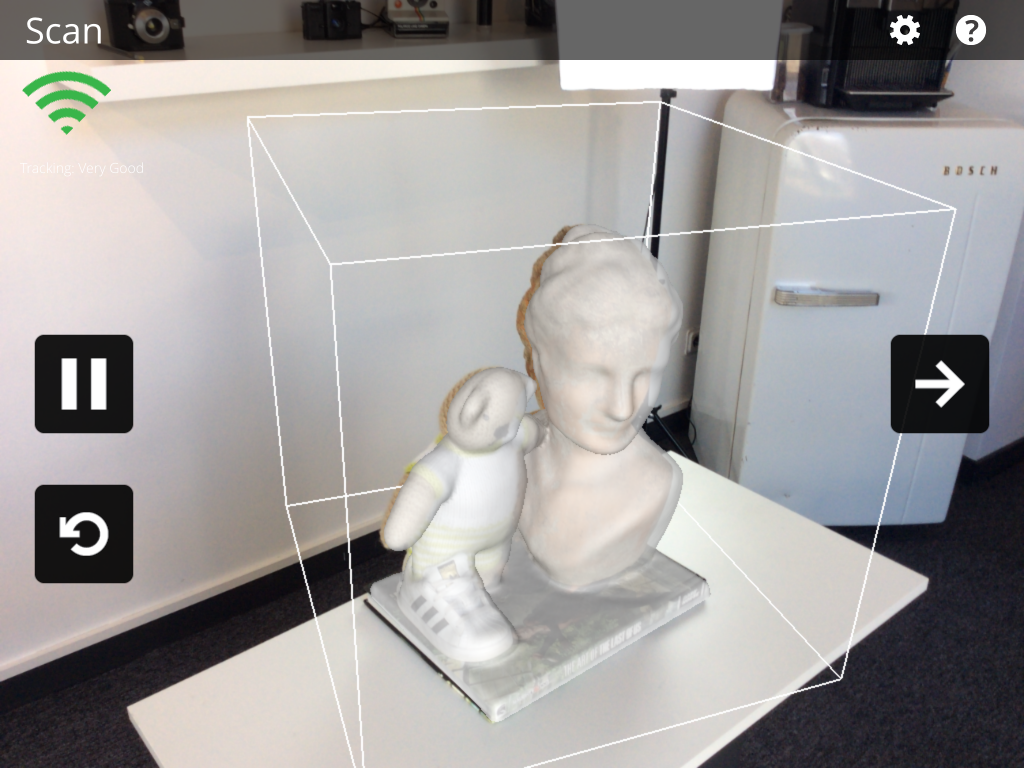 3D Systems iSense 3D Scanner and iOS App Review App