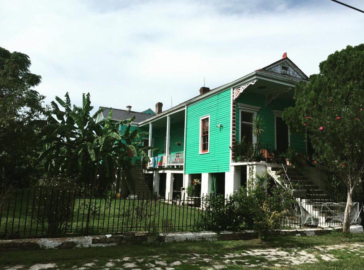 Nola Lower 9th Louisiana Style House Styles Bon Temps